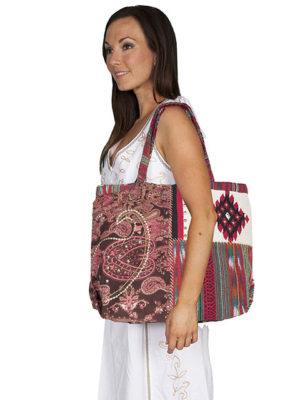 No. C19 Cantina Collection Handbag, 90% Cotton, 10% Poly, Multi