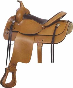 "No. 291475BC TEXAS TRAIL RIDER SADDLE 15, 16 or 17 "" Seats"