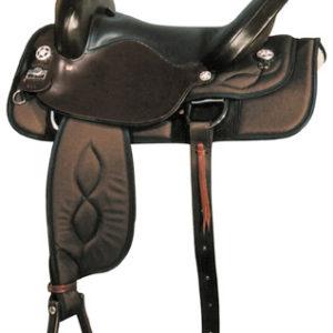 Big Horn A00299-17, & A00302-16Nylon Trail Saddle, Full QH