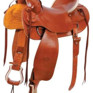 No 0-5004, No 04, No 0-7004Plain Prairie Comfort Saddle