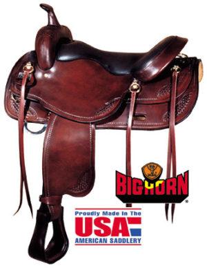 "Big Horn A01683-17 1/2DRAFT HORSE SADDLE, 17 1/2"""