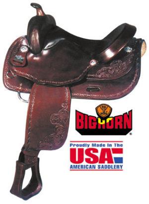 Big Horn A01681-16HAFLINGER TRAIL SADDLE