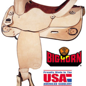Big Horn A00858-16TRAINING REINER SADDLE. 16 Inch Seat