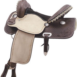 "No. 291260FLEX FLYER by Billy Cook Saddlery, 15 or 16"" Seat"