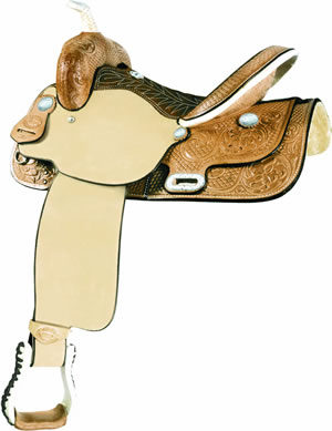 No. 291276TIME BREAKER Saddle by Billy Cook, 14, 15 or 16""