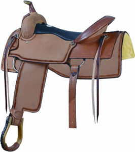 No. 291577DOWN THE FENCE COWHORSE Special,Billy Cook,16, 17""