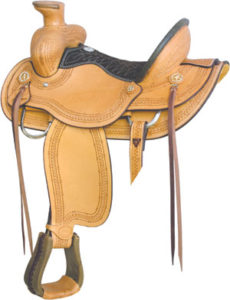 No. 291827THE RANCHER DUMAS WADE by Billy Cook, 16 Inch Seat