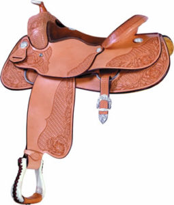 "No. 291389MILLENNIUM REINER SADDLE. 16"" SEAT"