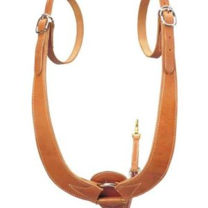 "No. 7-59""Buckaroo"" Mule Breast Collar, Med Oil"