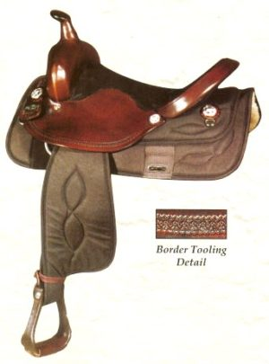 Big Horn No 282-15 No 281-16Cordura Nylon Trail Saddle