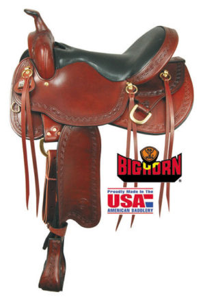BIG HORN A01663-16 & A01664-17RIDGELINE TRAIL Saddle