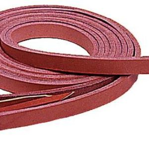 """No 6-285HARNESS LEATHER REINS, 5/8"""" s 8'"""