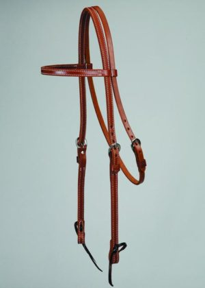 No. 5-225COLORADO OILED SKIRTING BROWBAND HEADSTALL