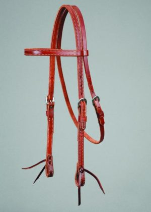 No. 5-228MAHOGANY LEATHER HEADSTALL