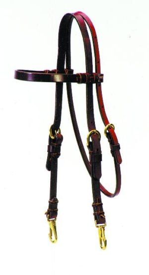 No. 5-43ROSEWOOD TRAINER HEADSTALL