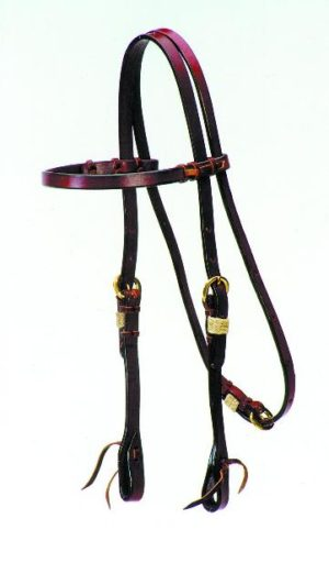 No. 5-44ROSEWOOD COWBOY HEADSTALL
