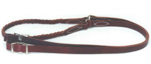 No. 14-168BRAIDED CENTER LATIGO ROPER AND CONTEST REIN, 8'