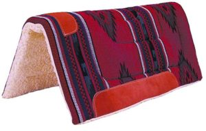 "No. 19-109COLORADO ""WILD ROSE"" SADDLE PAD"