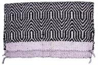 "No. 19-6HEAVY DOUBLE WEAVE SADDLE BLANKET 32"" X 64"""