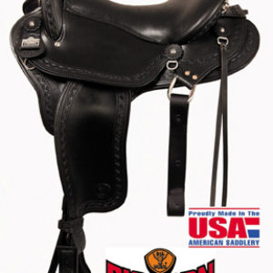 Big Horn A01685, A01687Endurance Gaited Saddle, Flex Tree