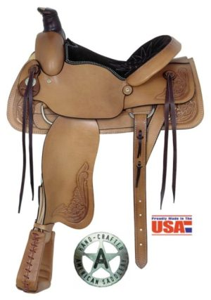 "American No. 750All Around Roping Saddle, 15 & 16"" Seat"