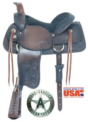"American No. 790American All Around Special Roper, 16"" Seat"