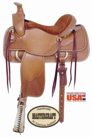 "American No. 1812Escalante II Roper Saddle, 16"" Seat"
