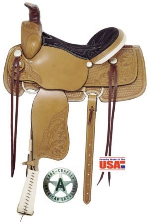 "American No. 1665The Mesquite Deluxe Roper, 16"" Seat"