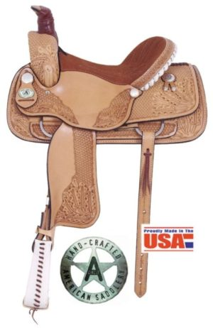 "American No. 1660The Mesquite Roper, 16"" Seat"