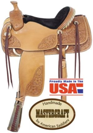 "American No. 118Pro Classic Roper, 15 1/2"" Seat, QH Bars"