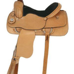 "American No. 1643Sonoita Roper Saddle, 16"" Seat, QH Bars"