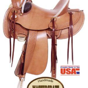 American No. 127The Deluxe Arizona Rancher Saddle, QH Bar