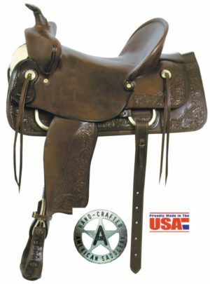 "American No. 732The Bear Trap Stockman Saddle, 15 & 16"" Seat"