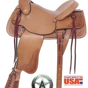 """American No. 748Rancher's All Around Saddle, 16"""" Seat"""