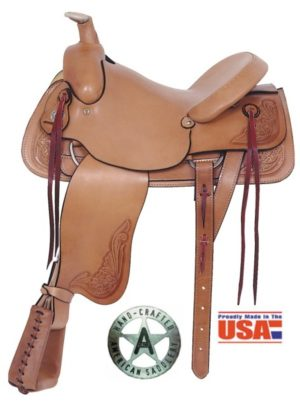 "American No. 748Rancher's All Around Saddle, 16"" Seat"