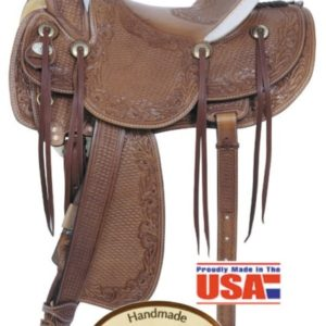 """American No. 125The Legend Ranch Saddle, 16"""" Seat, QH Bars"""