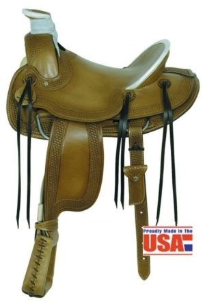 "American No.1785 A-Fork, 15, 16"" Seat, QH Bars"