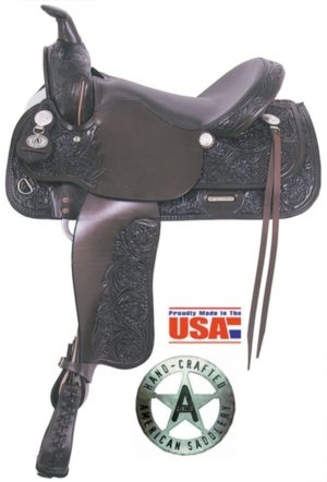 "American No. 1950Horizon Trail Saddle, 16 & 17"" Seat"