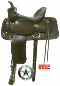 "American No. 1385The Bear Trap Trailsman I, 15, 16"" Seat"