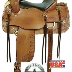 "American No 1386The Cumberland Trail Saddle. 16"" QH Bars"