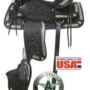 American No.250, No.251Parade of Diamonds Saddle, QH Bars