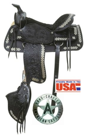American No.250, No.251Parade of Diamonds Saddle, QH Bars