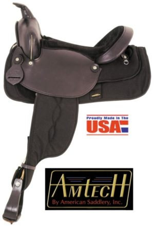 American No.365, 366, 367Cordura Nylon Trail Saddle. Full QH