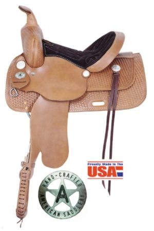 "American No. 1460 Trails for All Saddle, 13 - 17"". QH Bars"