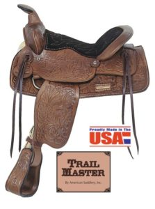 American No.331The Mounted Ranger Youth Saddle. 13 inch
