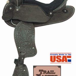 "American No.161, No.162Happy Trails Pony Saddle, 12"" Seat"