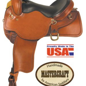 "American No.45South Fork Trail II Saddle16"", Full QH Bars"