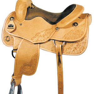 Big Horn A00860Working Cowhorse All Around Saddle, Full QH