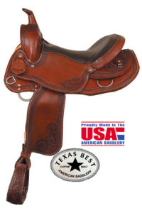 American No 937The Sendero Trail Saddle, QH,Mule,Gaited Bars