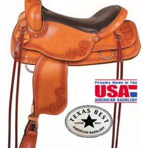American No. 953The Flat Top Trail, FQH, Mule or Gaited Bars